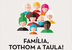 Família, tothom a taula! Festa al parc de la Ciutadella, diumenge 11 de maig