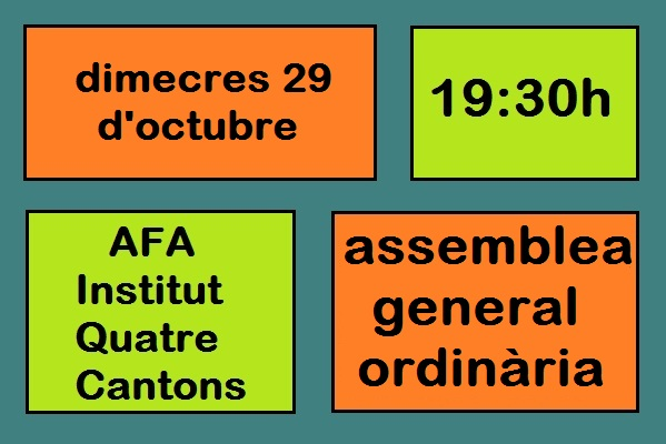 Assemblea general AFA Quatre Cantons