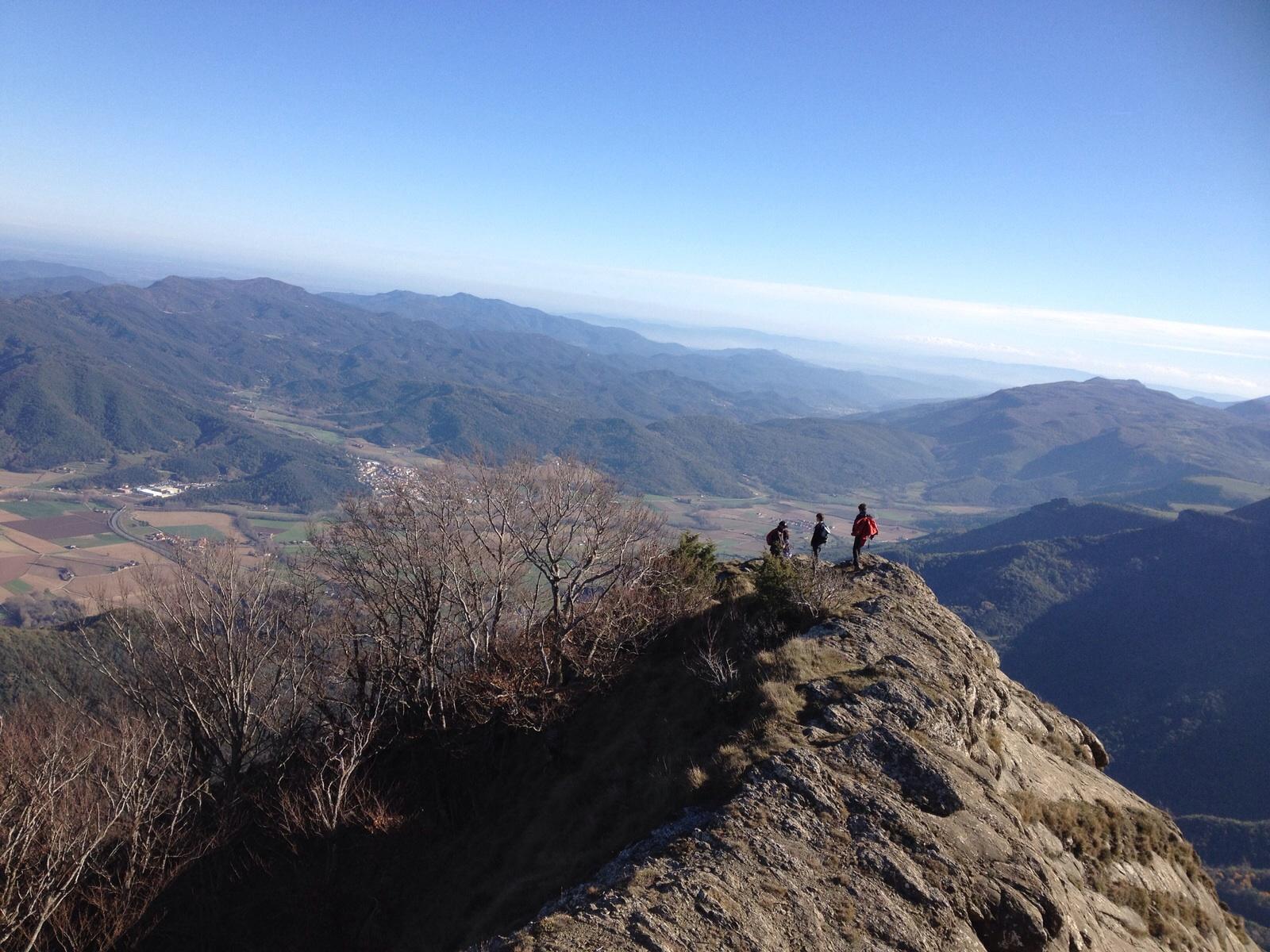 Si voleu saber com ens va anar…sortida del grup de muntanya al Puigsacalm.