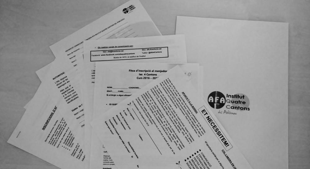 Dates i documentació curs 2016-2017