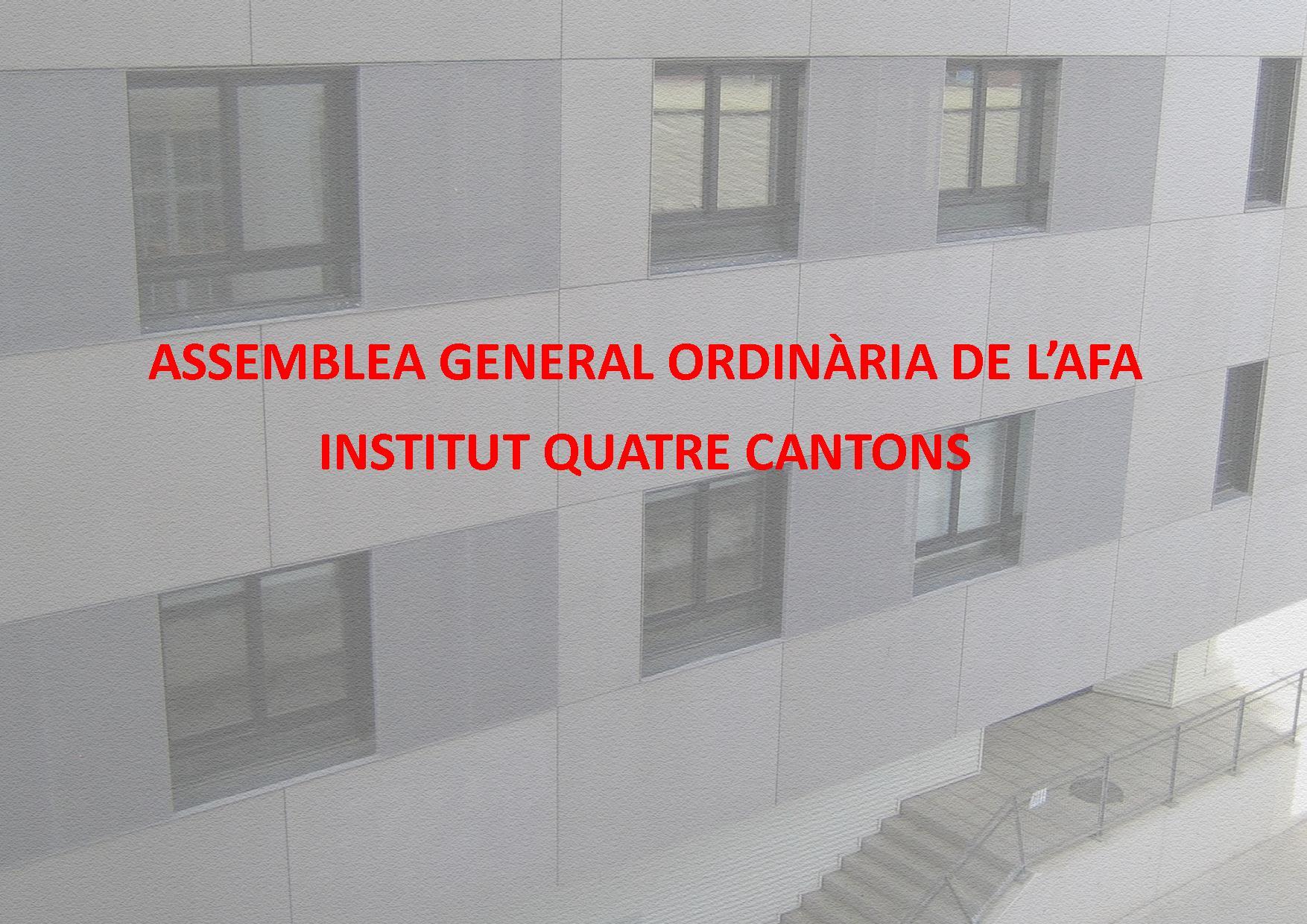 CONVOCATÒRIA ASSEMBLEA GENERAL 14 DE NOVEMBRE 2017