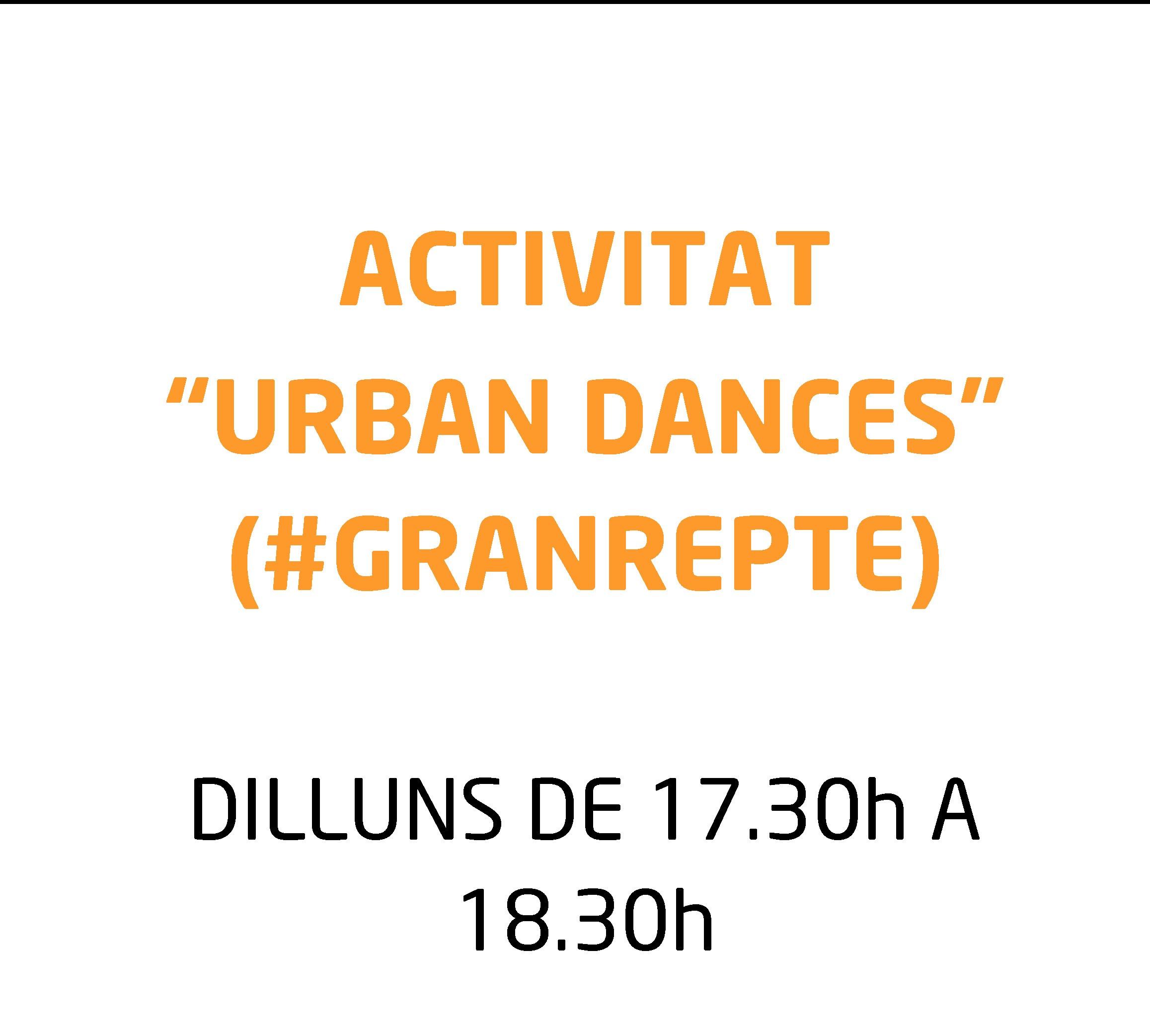 Danses Urbanes, nova activitat extraescolar