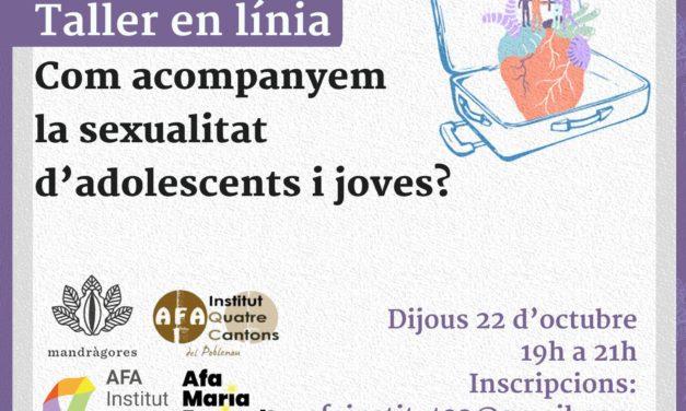 TALLER EN LINIA: Com acompanyem la sexualitat d'adolescents i joves?