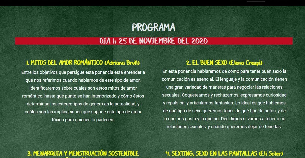COMISSIÓ FEMINISTA INFORMA: SEXUALITAT ADOLESCENT, XERRADA GRATUITA