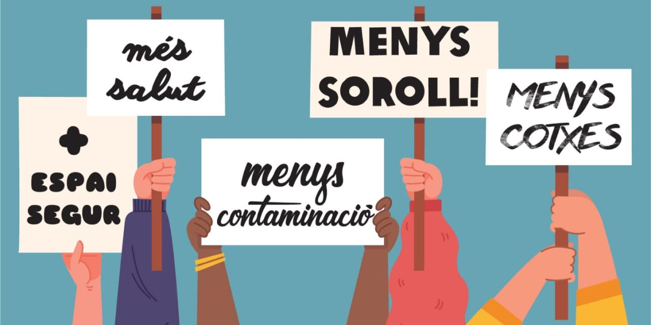 MOBILITZACIÓ PER MÉS SALUT I SEGURETAT ALS ENTORNS ESCOLARS: 26/02 16.30H