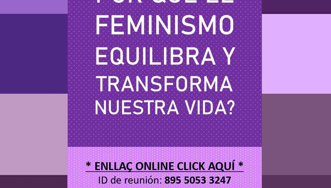 COMISSIÓ FEMINISTA: XERRADA ONLINE AMB AMPARO TOMÉ