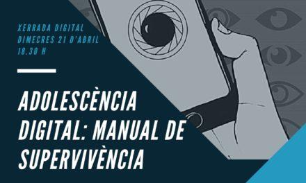 """Xerrada online: """"Adolescència digital: manual de supervivència"""""""