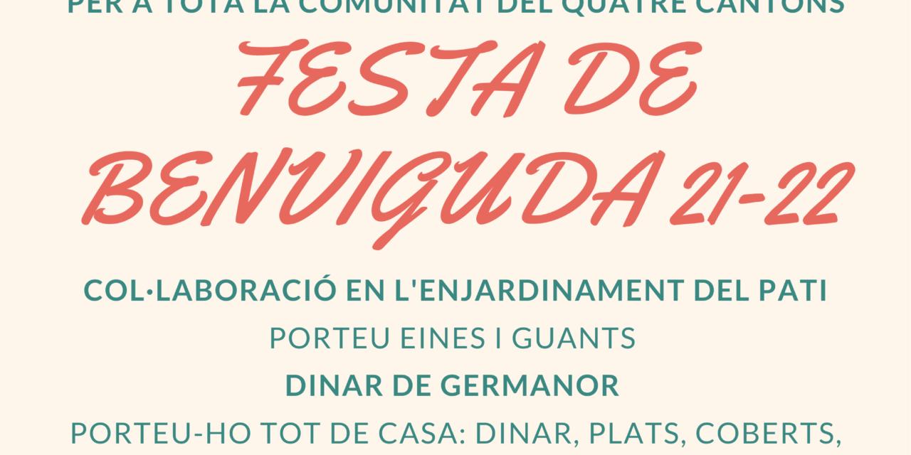 FESTA DE BENVINGUDA ALS NOUS ALUMNES